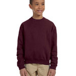 Youth 8 oz., 50/50 NuBlend® Fleece Crew