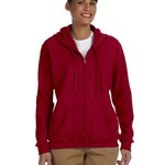 Heavy Blend™ Ladies' 8 oz., 50/50 Full-Zip Hood