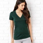 +Canvas Ladies' Triblend Deep V-Neck Tee