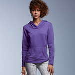 Ladies' Hooded French Terry Fleece