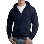 VALUE Comfortblend ® EcoSmart ® Full Zip Hooded Sweatshirt