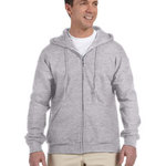 DryBlend™ 9.3 oz., 50/50 Full-Zip Hood