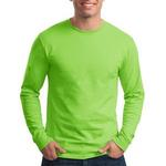 VALUE Tagless ® 100% Cotton Long Sleeve T Shirt